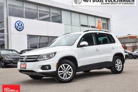 2015 Volkswagen Tiguan Trendline 6sp OFF Lease/NO Accidents/LOW KMS