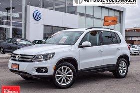 2017 Volkswagen Tiguan Wolfsburg Edition 2.0T 6sp at w/Tip 4M Allwheel Dr