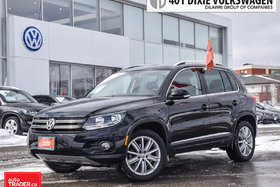 2017 Volkswagen Tiguan Comfortline 2.0T 6sp at w/Tip 4M Traded. NO Accide