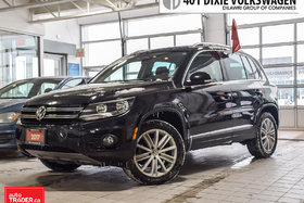 2017 Volkswagen Tiguan Comfortline 2.0T 6sp at w/Tip 4M Traded. NO Accide