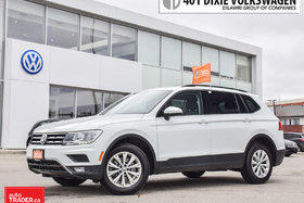 2018 Volkswagen Tiguan Trendline 2.0 8sp at w/Tip 4M LOW KMS/ALL Wheel Dr