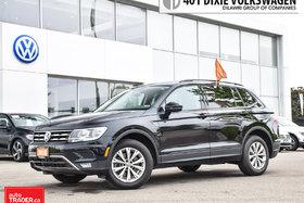 2018 Volkswagen Tiguan Trendline 2.0 8sp at w/Tip 4M LOW KMS/NO Accidents