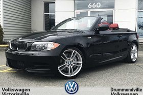 BMW 135 I Conv. 300HP !!! | M PKG | CUIR ROUGE 2012