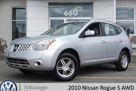 2010 Nissan Rogue S AWD | ÉQUIPEMENT COMPLET