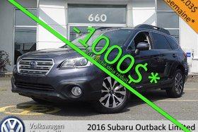 Subaru Outback 3.6R Limited   TECH PKG   CUIR   TOIT PANO 2016