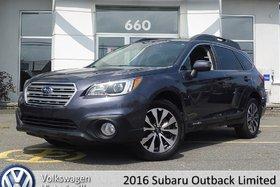 2016 Subaru Outback 3.6R Limited   TECH PKG   CUIR   TOIT PANO