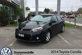 2014 Toyota Corolla S/ AIR CLIMATISÉ/BANC CHAUFFANT/CAMERA