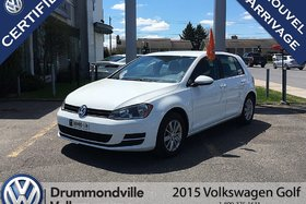 2015 Volkswagen Golf 1.8 TSI/BANC/AIR/BLUETOOTH