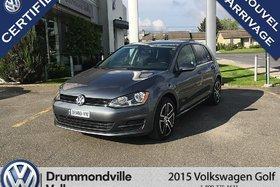Volkswagen Golf 1.8 TSI Trendline/BANC CHAUFFANT/AIR CLIMATISÉ 2015