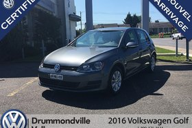 2016 Volkswagen Golf 1.8 TSI Trendline/AIR/BANC/BLUETOOTH