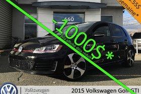 Volkswagen GTI AutobahN | PNEUS HIVER NEUF INCLUS | TECH PKG 2015