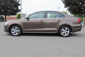 2013 Volkswagen Jetta TDI, COMFORTLINE, BAS MILEAGE