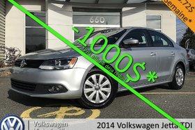 2014 Volkswagen Jetta TDI Trendline+ | ÉQUIPEMENT COMPLET