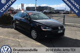 2014 Volkswagen Jetta 2.0 TDI Trendline+/ 0% intérêt