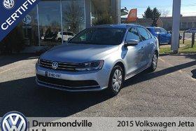 Volkswagen Jetta 2.0L Trendline+/BLUETOOTH/BANC CHAUFFANT 2015