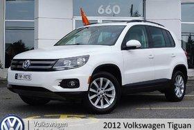 Volkswagen Tiguan 4MOTION COMFORTLINE | CUIR | TOIT PANO 2012