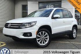 2015 Volkswagen Tiguan Comfortline | CUIR | TOIT PANO