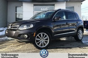 Volkswagen Tiguan Highline | CUIR BRUN | FENDER | GPS | TOIT 2016