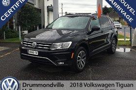 2018 Volkswagen Tiguan Comfortline/Cuir/4Motion/Camera