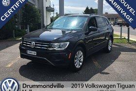 2019 Volkswagen Tiguan Trendline +/Banc Chauffant/Camera