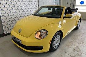 Volkswagen Beetle cabriolet BEETLE CONVERTIBLE TRENDLINE + 2015