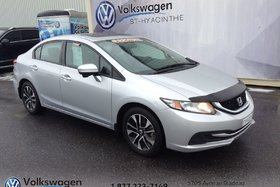 Honda Civic Sedan EX+TOIT OUVRANT+MAGS+SIÈGES CHAUFFANT 2014