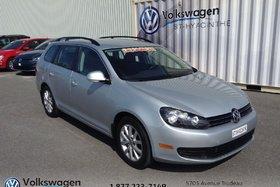 2013 Volkswagen Golf Sportwagon COMFORTLINE+MAGS+GROUPE ELECTRIQUE
