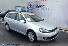 Volkswagen Golf wagon **TDI**,TRENDLINE+BLUETOOTH+AUTOMATIQUE 2014