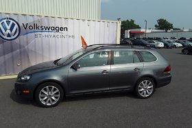 2014 Volkswagen Golf wagon ***TDI***HIGHLINE+CUIR+TOIT+GPS