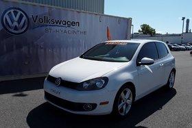 2012 Volkswagen Golf SPORTLINE+SIÈGES CHAUFFANTS+TOIT OUVRANT