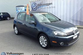 Volkswagen Golf **TDI**COMFORTLINE+TOIT OUVRANT+SIÈGES CHAUFFANTS 2013