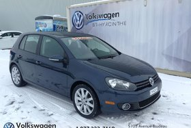 Volkswagen Golf **TDI**+HIGHLINE+TOIT OUVRANT+BLUETOOTH+CUIR 2013