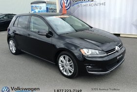 2015 Volkswagen Golf HIGHLINE+CUIR+TOIT+ENSEMBLE MULTIMEDIA