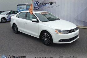 Volkswagen Jetta Sedan **TDI**HIGHLINE+TOIT+CUIR+BLUETOOTH 2013