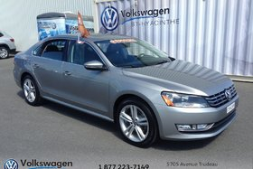 2012 Volkswagen Passat **TDI**HIGHLINE+BLUETOOTH+CUIR+TOIT+DÉMAREUR