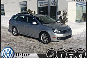 Volkswagen Golf wagon HIGHLINE TDI 2013