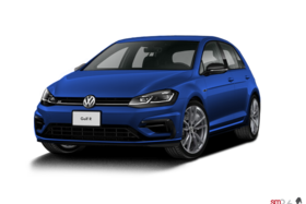 2018 Volkswagen Golf R 5-Dr 2.0T 4MOTION at DSG