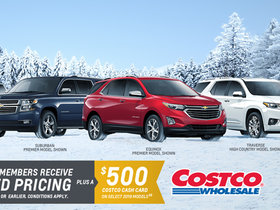 Costco Winter Crossover & SUV Promotion!