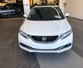Honda CIVIC LX WHITE 2015