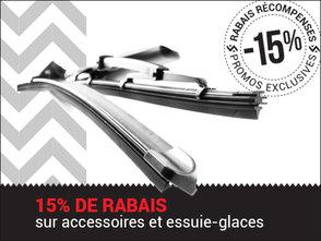 RABAIS sur les accessoires ET balais essuie-glaces chez Hyundai Trois-Rivières à Trois-Rivières