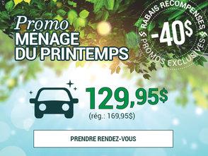 40$ DE RABAIS sur lavage complet avec shampoing tapis chez Prestige Mazda à Shawinigan