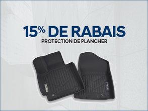 15% de RABAIS sur les protecteurs de plancher chez Hyundai Shawinigan à Shawinigan