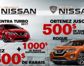 Nissan Prime salon de l'auto Rogue, Sentra 2017
