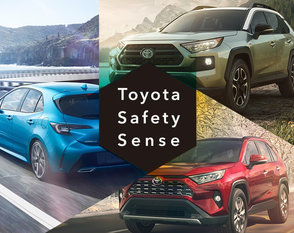 Toyota Safety Sense: Safety Comes First