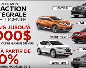 L'ami junior Nissan c'est plus qu'un prix! C'est la gamme de VUS la plus importante de l'industrie