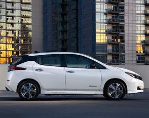 Le nouveau programme d'incitatif aux véhicules électriques profite à la Nissan LEAF