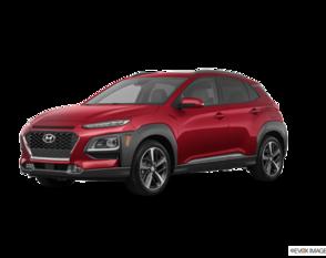 Hyundai Kona Ultimate Noir avec ensemble couleur rouge 2020