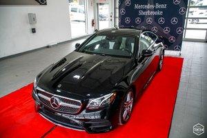 Mercedes-Benz E-Class 2018 E 400COUPE BAS KILOMÉTRAGE, CONDUITE INTELLIGENTE
