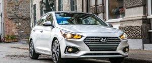 Les prix de la Hyundai Accent 2018 annoncés