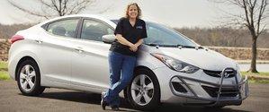 Elle a parcouru plus de 1,6 million de kilomètres avec sa Hyundai Elantra 2013